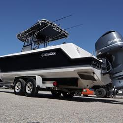 Dark Blue Contender Boat